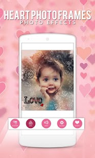 Heart photo frames Photo Effects - náhled
