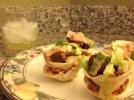 Ranch Salsa Burrito Stack'ems Recipe
