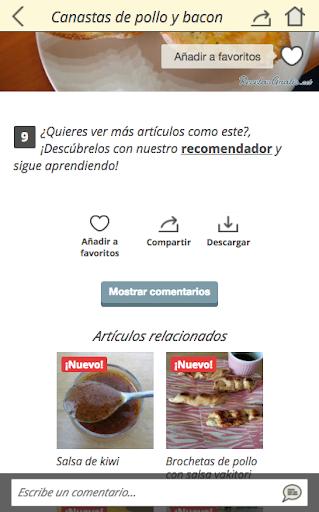 玩免費遊戲APP|下載Recetas fáciles app不用錢|硬是要APP