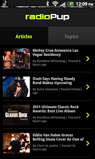 radioPup- screenshot thumbnail