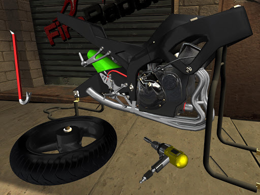 Fix My Motorcycle: Bike Mechanic Simulator! LITE 90.0 screenshots 10