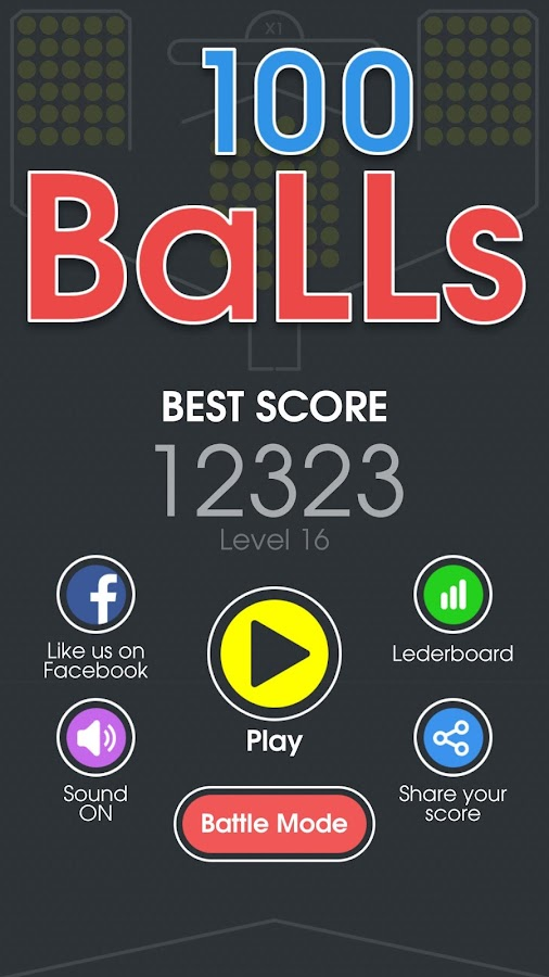100 Balls - Tap to Drop the Color Ball Game- screenshot