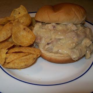 Crock-Pot Hot Leftover Turkey Sandwiches