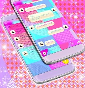 Volný 2017 barevný SMS téma - náhled