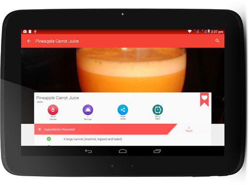 Juice Recipes for Android apk 10