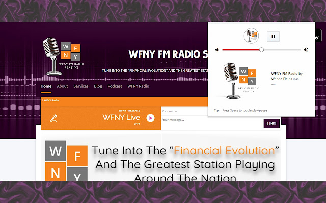WFNY FM Radio