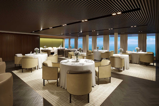 ncl-Prima-Rstrnt-The-Haven-Restaurant.jpg - A look at the restaurant available to guests of the exclusive enclave the Haven.
