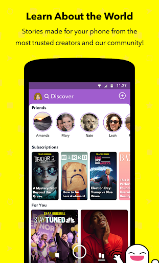 Screenshot for Snapchat in United States Play Store