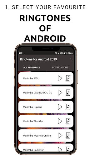 Ringtone for Androidu2122 2020 1.0.9.8 screenshots 1