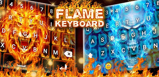 Flame Keyboard 🔥 Keyboards Latest And Stylish - keyboard with emoji and fonts!