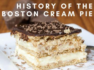 History of the Boston Cream Pie