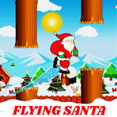 Christmas Flying Santa Endless Infinite Free Game Android APK Download Free By Shivay Games