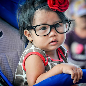 by Andi Firdaus - Babies & Children Toddlers ( girl, glasses )