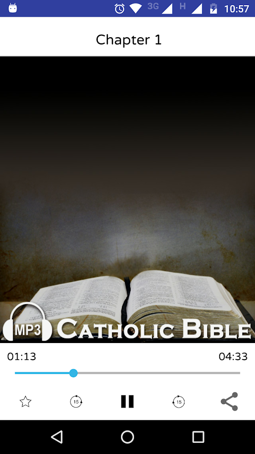 Audio Catholic Bible- screenshot