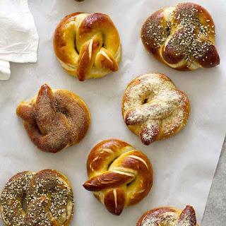 Homemade Soft Pretzels, Three Ways