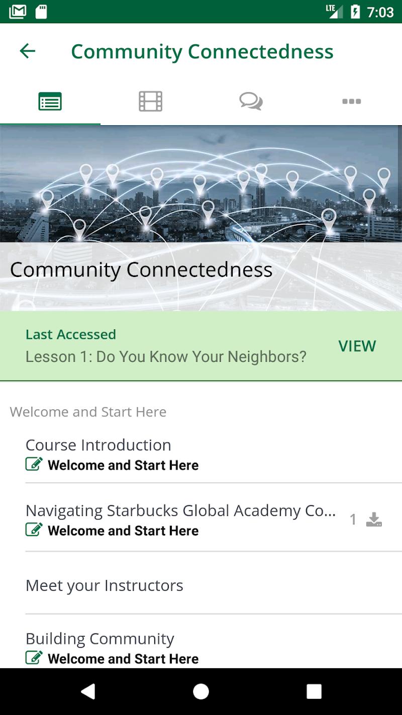 Скриншот Starbucks Global Academy