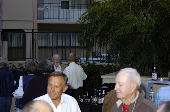 Photo: Howard Hofman, Jr., with Bill Dickey and Richard Leach in foreground