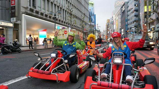 maricar: Mario Kart in Tokyo in Tokyo, Tokyo, Japan