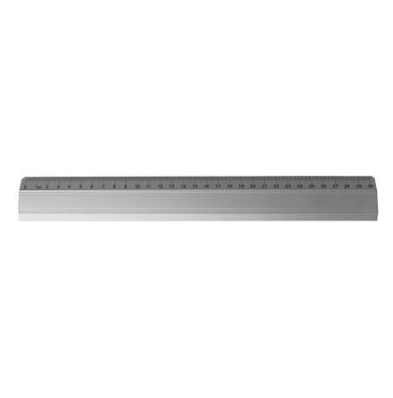 Linjal aluminium OD 30cm