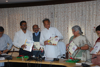 Photo: Inauguration of Digital Saheli - Empowering women Digitally  Digital Saheli is an eLearning course which will improve efficiency and enhance effectiveness in variety of roles in women's personal, professional and social life.  Hon'ble Chief Minister Sh. Ashok Gehlot Inaugurated the Digital Saheli on July 22, 2011.  DIGITAL SAHELI has number of activities that you can do in your daily lives using internet and computer.