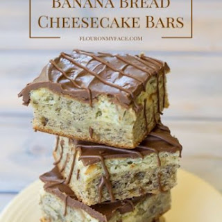 Banana Bread Cheesecake Bars