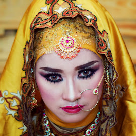 Beauty of India by Achmad Sutanto - People Portraits of Women ( #beauty, #potrait, #model, #indonesia, #india )