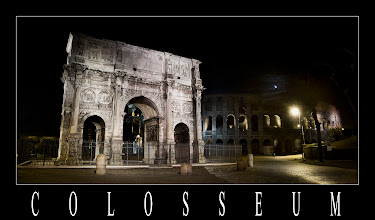 Photo: Arco de Constantino y Coliseo