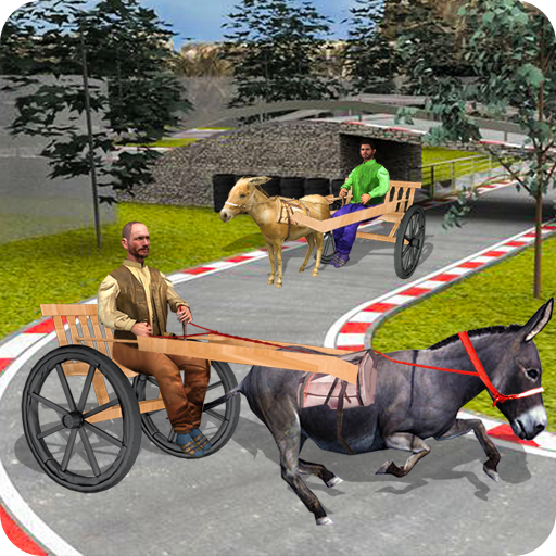 Donkey Cart Racing Simulator: Cart Transporter
