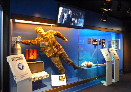 View of an exhibit at the