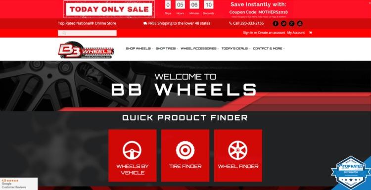 outstanding automotive e commerce site