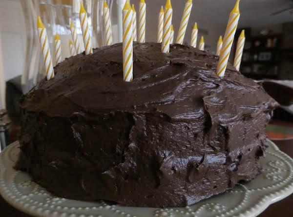 German Chocolate Cake W/ Chocolate Buttercream