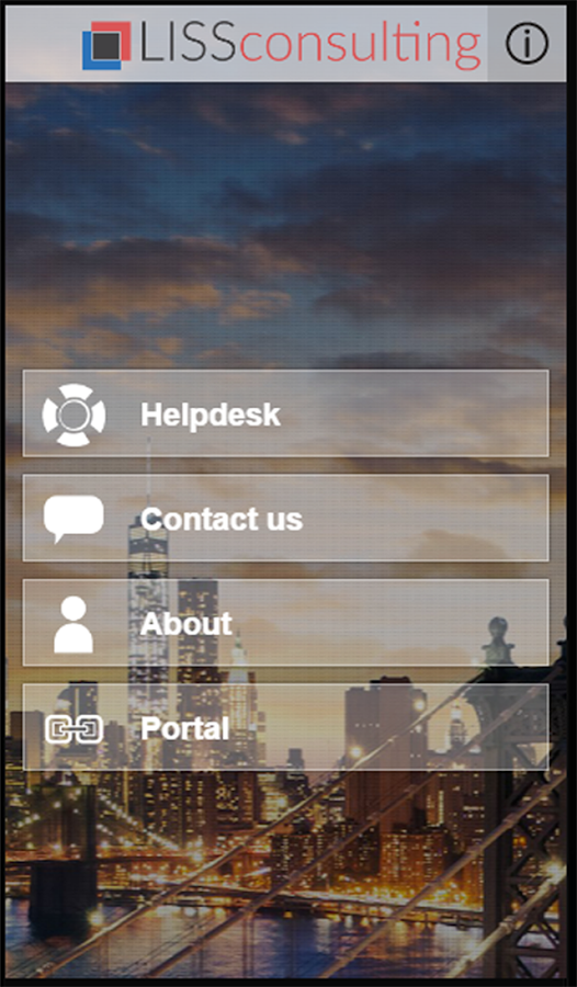 LISS Consulting Helpdesk- screenshot