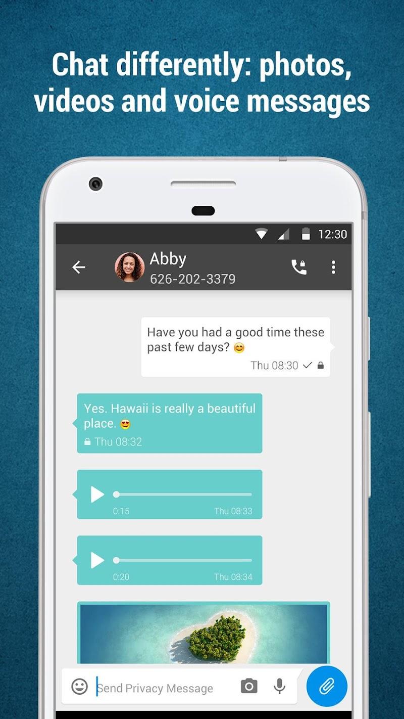 Privacy Messenger Pro Screenshot 2