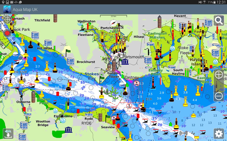 Aqua Map UK Ireland GPS Android Apps On Google Play - Aqua map us