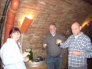 Photo: Erdstallvermessung Gaweinstal am 2.11.08. Ein 8tel mit Elisabeth und Gerhard. http://erdstall.heim.at