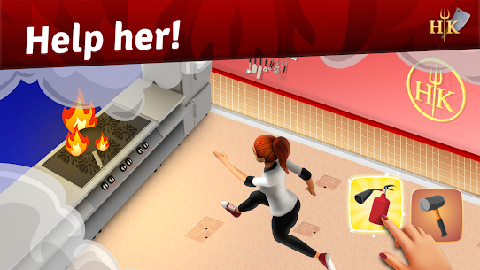 Hell's Kitchen: Match & Design MOD APK (Unlimited Moves) 1