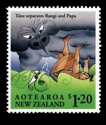 Image result for Ranginui and Papatuanuku
