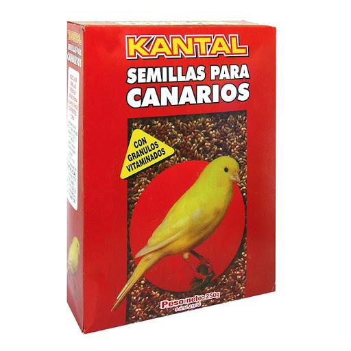Alimento Para Mascotas Kantal Semillas Para Canarios 250gr