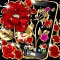 Gold rose live wallpaper download