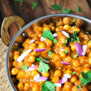 Chole, Indian Chickpea Curry.