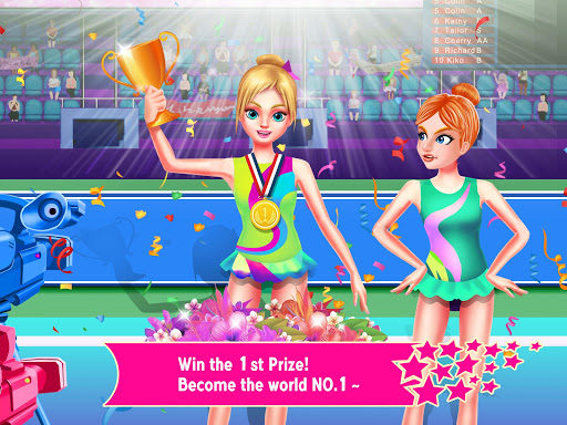 Gymnastics Superstar 2 - Cheerleader Dancing Game 1.0 screenshots 1