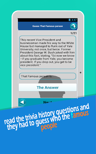 Guess That famous people quiz|玩益智App免費|玩APPs
