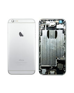 iPhone 6G Back Housing with small parts Original Pulled Silver