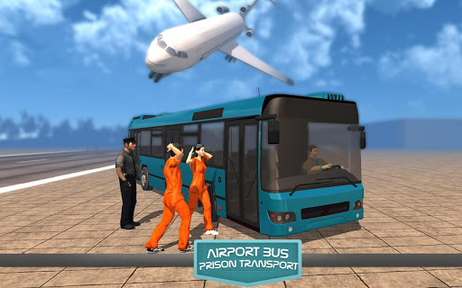 공항 버스 감옥 전송