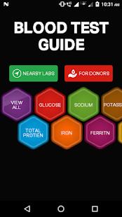 Blood Test Guide - náhled
