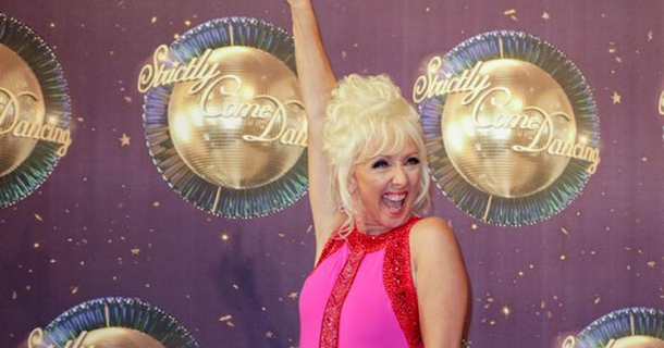Debbie McGee talks to late husband before Strictly Come Dancing