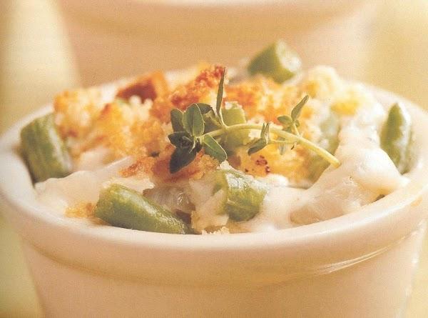 Green Bean And Sweet Onion Gratin Recipe
