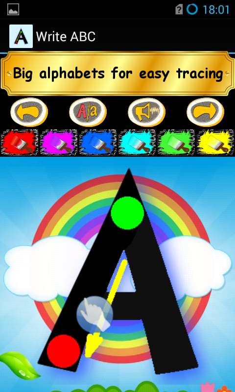 Write ABC - Learn Alphabets screenshot #2