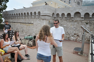 Photo: Předávání vysvědčení v Monacu za školní rok 2013/2014 (sobota 28. červen 2014).