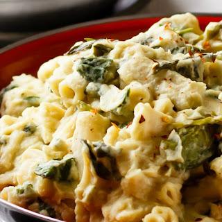 Vegan Cauliflower Alfredo.